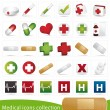 Medical icons — Vector de stock #3042059