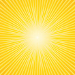 Beautiful sunburst background — Stock Vector #3124851