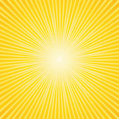 Beautiful sunburst background — Stock Vector
