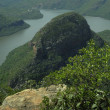 Lake in the Blyde River Canyon - Stock Photo