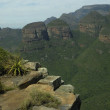 Stock Photo: Three Rondawels, Blyde River Canyon