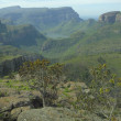 View across the Blyde River Canyon - Stock Photo