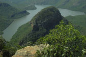 Lake in the Blyde River Canyon — Stock Photo