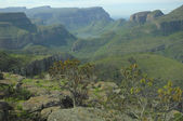 View across the Blyde River Canyon — Stock Photo