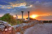 Ruiny chersonese, sevastopol, krym, ukrajina — Stock fotografie