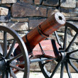Wooden cannon — Stock Photo