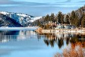 Big bear lake — Stock Photo