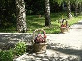 élément de décor de jardiniers-paysagistes — Photo