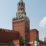 Spassky tower of the Kremlin — Stock Photo