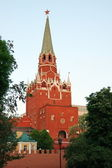 Troitsk tower of the Moscow Kremlin — Stock Photo
