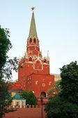 Troitsk wieża moskwy — Zdjęcie stockowe