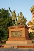 Monument of Mininu and Pozharsky — Stock Photo