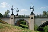 Le pont dans un ravin — Photo