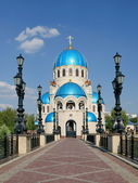 Temple Zhivonachalnoj of the Trinity — Stock Photo