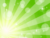 Green shiny background — Cтоковый вектор