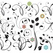 Collection of floral design elements — Vector de stock #2867549