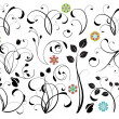 Collection of floral design elements - 