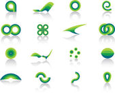 Collection of design elements — Stock Vector