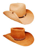 Two cowboy hat — Stock Photo