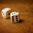 pair of dice — Stock Photo