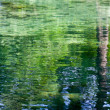 Stock Photo: A water background with reflections