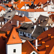 Red roofs — Stock Photo