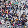 Stock Photo: Crowd texture