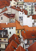 Red roofs, Prague — Stock Photo