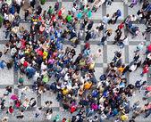 Crowd texture — Stock Photo