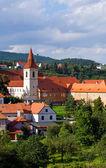 Cesky krumlov la ciudad — Foto de Stock