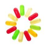 Hard candies — Stock Photo
