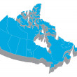 Map of Canada — Stock Photo #2932177