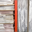 Stock Photo: Composition of documents
