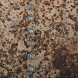 Stock Photo: Rusted metal