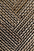 Cartón corrugado — Foto de Stock