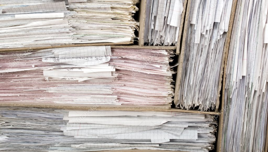 Composition of a lot of documents and catalogs — Stock Photo #2932506