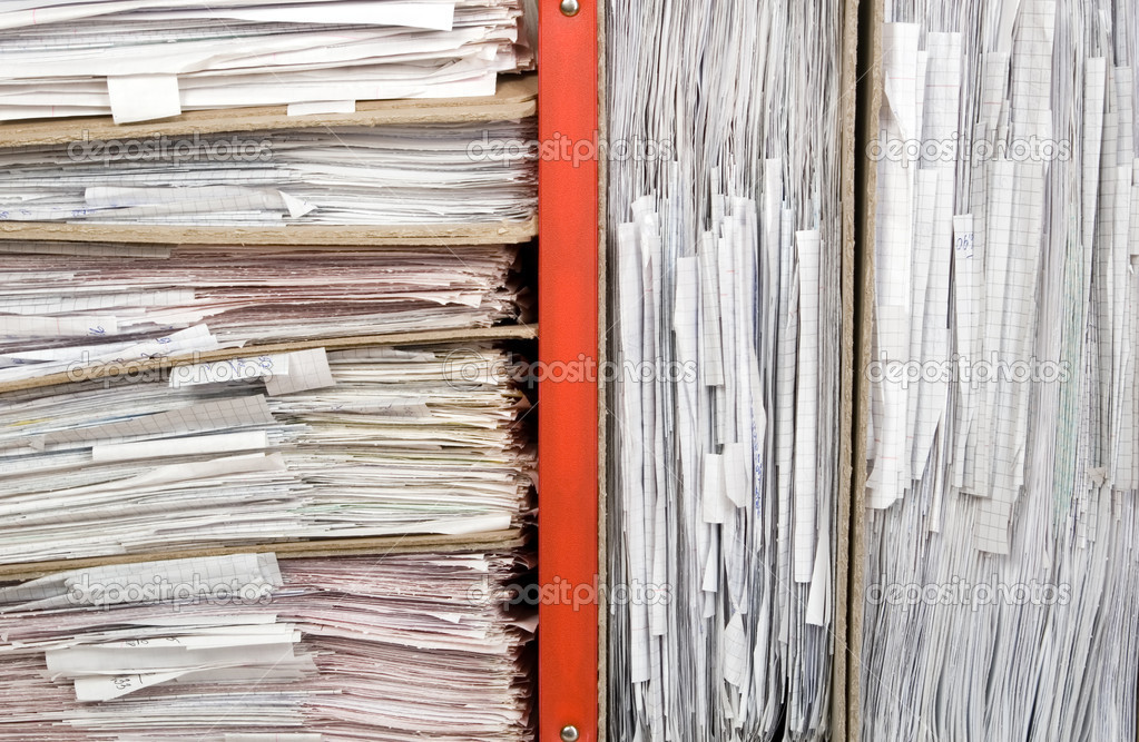 Composition of a lot of documents and catalogs — Stock Photo #2932511