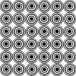 Black circles — Stock Photo