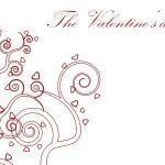 Valentine day frame — Stock Photo