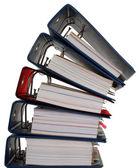 Composição de documentos — Foto Stock