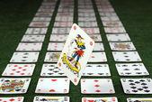 Tarjeta, casino — Foto de Stock