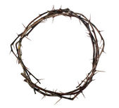 Crown of wood with thorns — Stock Photo