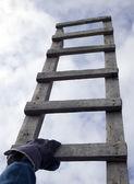 Ladder to beautiful heaven — Stock Photo