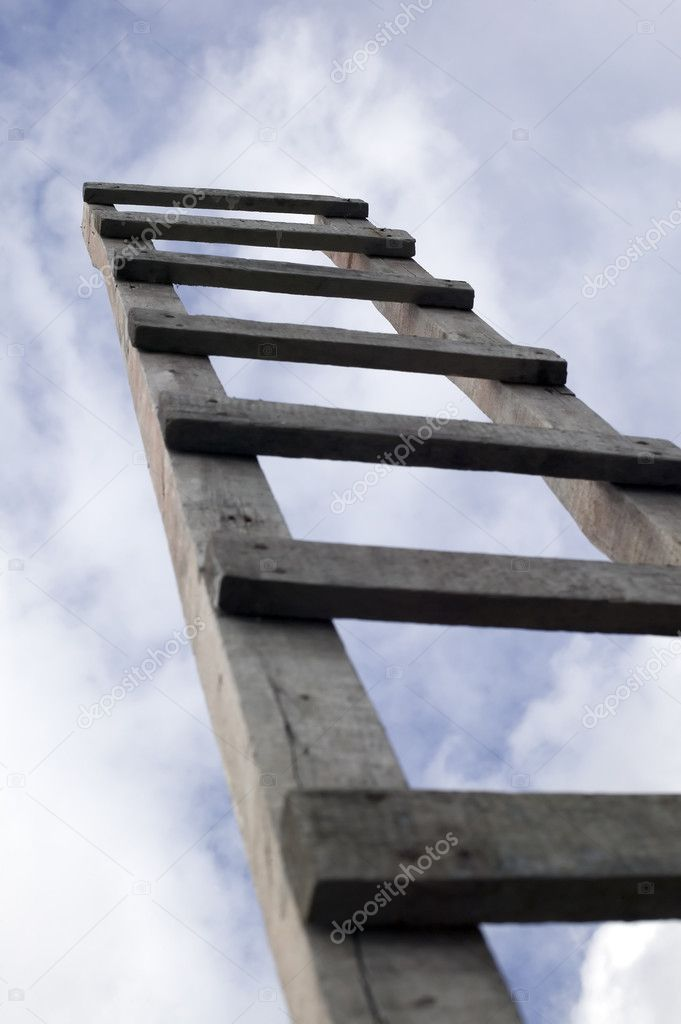 ladder to beautiful heaven stock photo carenas1 2955316