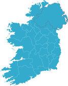 Map of Ireland — Stock Photo
