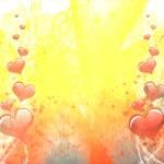 formes de coeur, amour concept — Photo