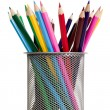 Colorful pencils, education concept — Stock Photo