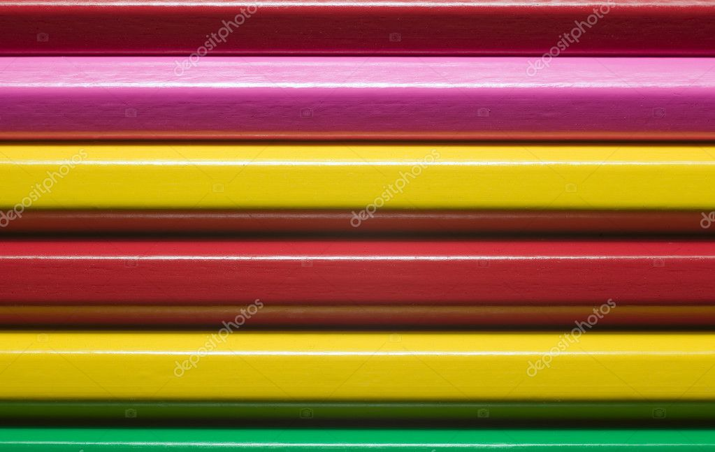 Texture of many colorful pencils, education concept — Stock Photo #3112322