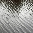 Water surface with little waves — Stock Photo