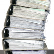 Composition of documents - Foto de Stock